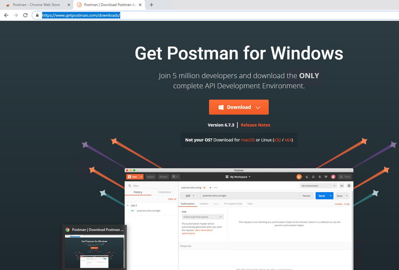 Como instalar e utilizar o Postman para enviar requisições
